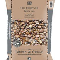BAC14HS---Brown-&-Cream