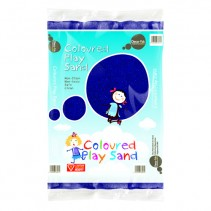 Coloured Play Sand - Blue
