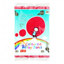 Coloured Play Sand - Red