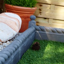 Rope Top Edging - Twilight