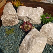 White Limestone Rockery