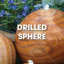 drilled-sphere