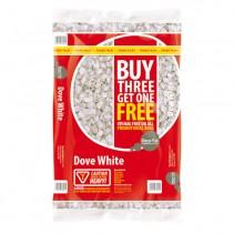 Dove White Bag