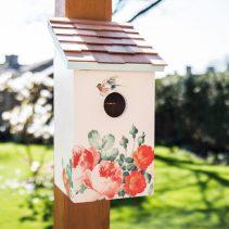 Printed-Saltbox-Birdhouse---Peony