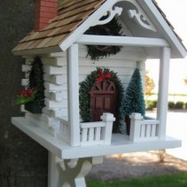 Christmas Birdhouses Archives - Deco-Pak - Landscaping Products ...