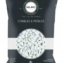 Milano Cobbles & Pebbles - White Pebbles