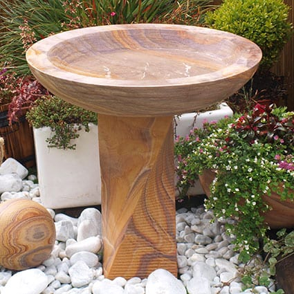 Large Bird Bath