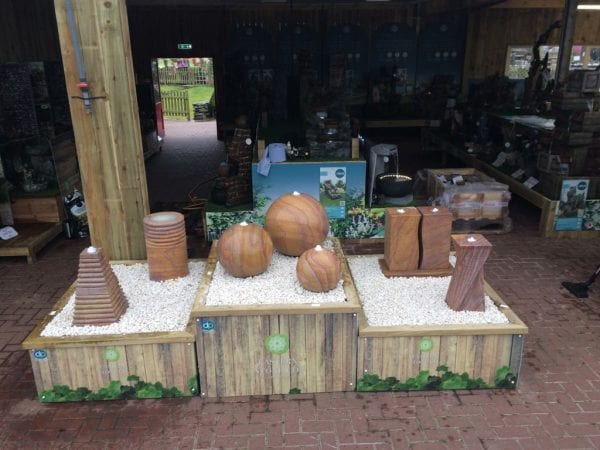 Brigg Garden Centre - Eastern Stone Water Features